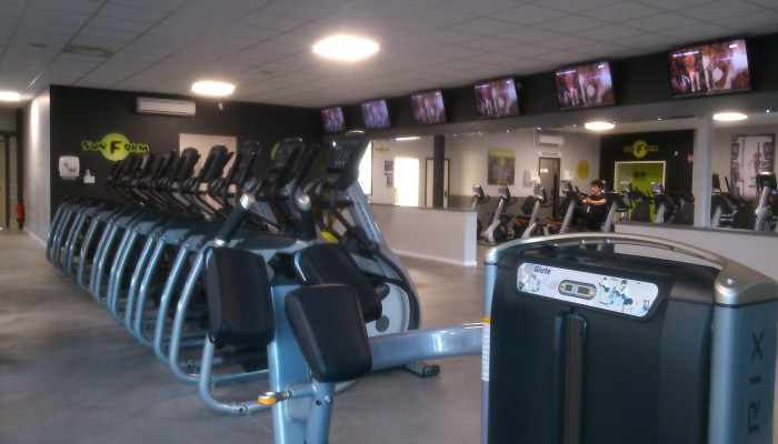 Aménagement Salle De Sport franchise sun form, ouvrir une franchise sport - fitness